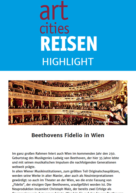 Newsletter | Beethovens Fidelio in Wien