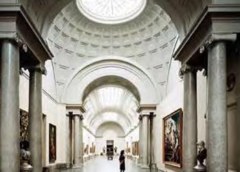 Madrid - Kunst am Paseo del Arte