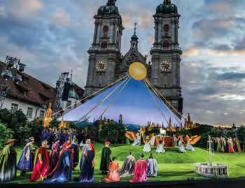 St. Gallen - Opernfestspiele im Klosterhof