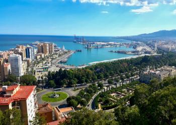Malaga - VON POMPIDOU BIS PICASSO