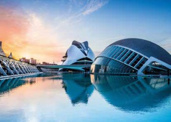 Valencia - Stadt der Künste und Wissenschaften