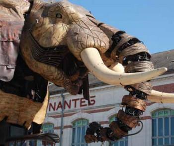 Nantes - Hafen der Kreativität
